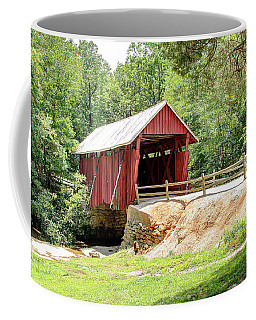 Last Covered Bridge In Sc Coffee Mug