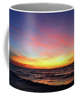Coffee Mug featuring the photograph Last Day Of Autumn Sunrise Five  by Lyle Crump