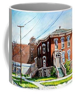 Last House Standing Coffee Mug by Alexandra Maria Ethlyn Cheshire