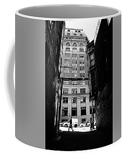 Coffee Mug featuring the photograph Last Jacket  by Empty Wall
