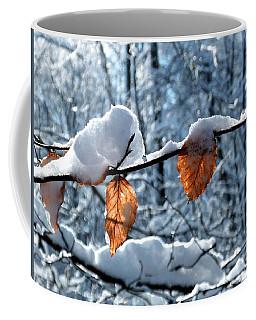 Last Leaves Coffee Mug by Karen Stahlros