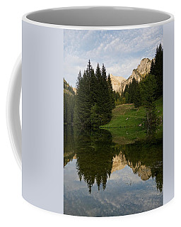 Last Light At Lac De Fontaine Coffee Mug