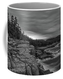 Last Light At Otter Cliff Coffee Mug