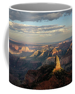 Coffee Mug featuring the photograph Last Light Mt Hayden by Gaelyn Olmsted