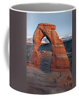 Last Light On Delicate Arch  Coffee Mug