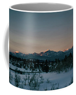 Last Light On Pagosa Peak Coffee Mug