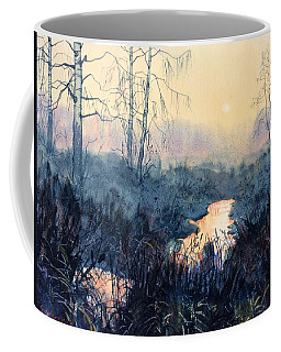 Last Light On Skipwith Marshes Coffee Mug