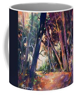 Last Light Coffee Mug by Rae Andrews