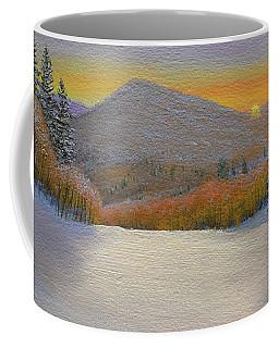 Last Light Winter Day Coffee Mug