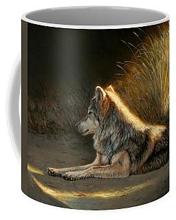 Last Light - Wolf Coffee Mug