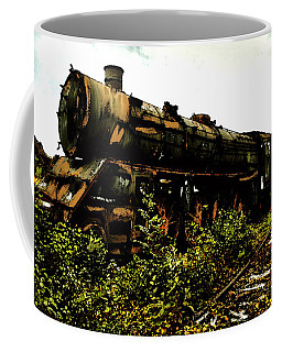 Last Of The 309  Steam Train  Coffee Mug