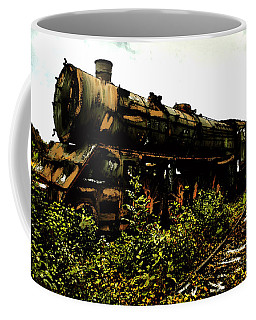 Last Of The 309  Steam Train  Coffee Mug