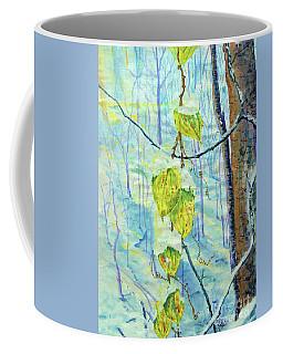 Last Of The Leaves Coffee Mug