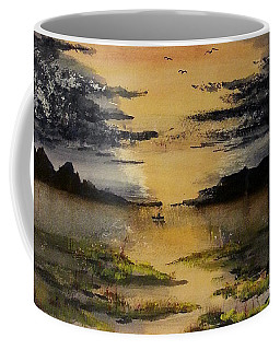 Last One Out Coffee Mug