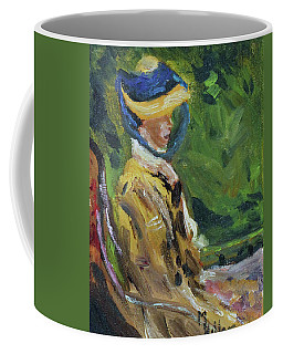 Last Portrait Of His Wife Suzanne., After Manet Coffee Mug