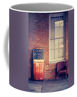 Coffee Mug featuring the photograph Last Pump Standing by Trish Mistric