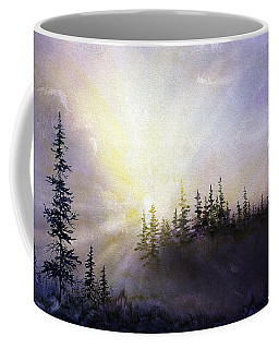 Last Rays Sunset Coffee Mug