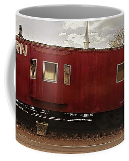 Coffee Mug featuring the photograph Last Stop by Aaron Martens