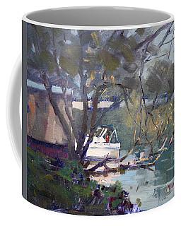 Last Sun Touches By Tonawanda Canal Coffee Mug