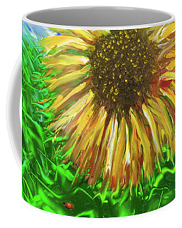 Last Sunflower Coffee Mug