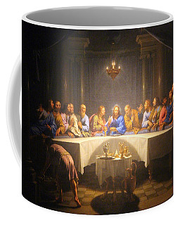 Last Supper Meeting Coffee Mug