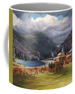 Last Train To Crawford Notch Depot Coffee Mug
