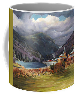 Last Train To Crawford Notch Depot Coffee Mug