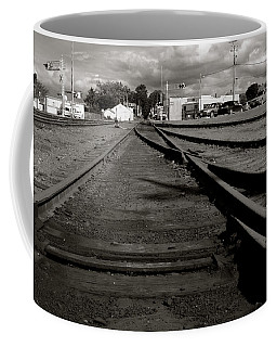 Last Train Track Out Coffee Mug