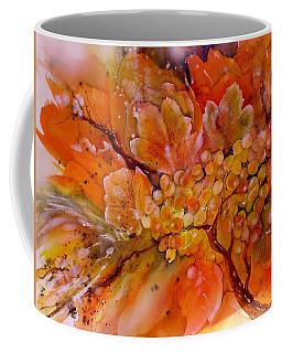 Last Warm Sunrays On The Grapes Coffee Mug