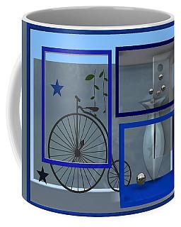 Last Years In Blue Coffee Mug