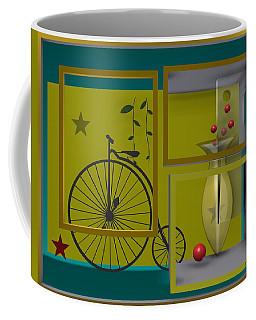 Last Years In Yellow Coffee Mug