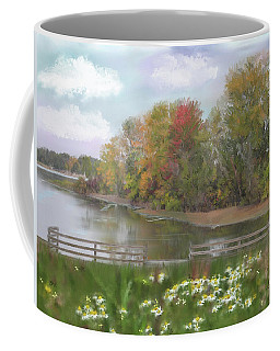 Lasting Autumn Flowers Coffee Mug by Mary Timman