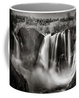 Coffee Mug featuring the photograph Late Afternoon At The High Falls by Rikk Flohr
