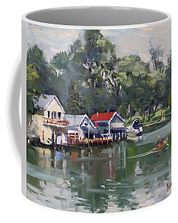 Late Afternoon By The Canal Coffee Mug