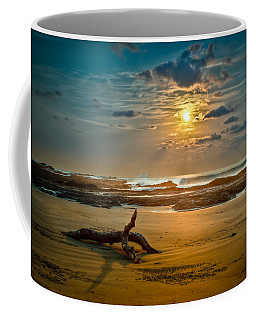 Coffee Mug featuring the photograph Late Afternoon Costa Rican Beach Scene by Rikk Flohr