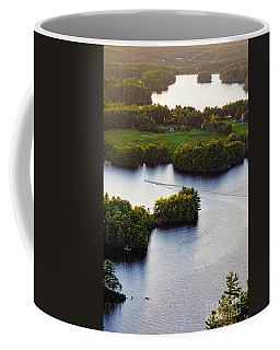 Late Afternoon On Lake Megunticook, Camden, Maine -43988 Coffee Mug