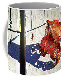 Coffee Mug featuring the photograph Late Afternoon Shadow by J R Seymour