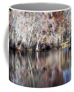 Late Autumn Along The Waccamaw River Coffee Mug