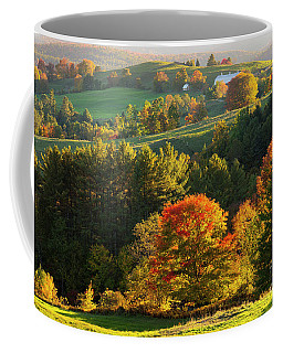 Late Day Fall Countryside Coffee Mug