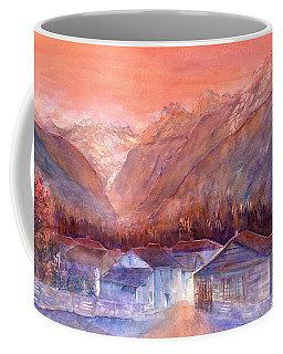 Autumn In The Mountains Coffee Mug