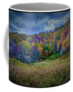 Late Fall On Green Knob Trail Coffee Mug