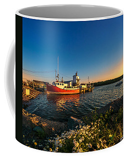 Late In The Day At Fisherman's Cove  Coffee Mug by Ken Morris