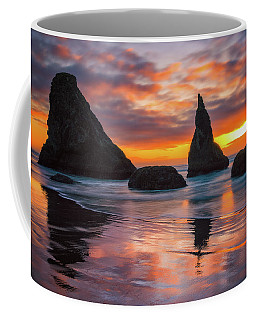 Coffee Mug featuring the photograph Late Night Cloud Dance by Darren White