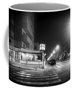Late Night Restaurant. Coffee Mug
