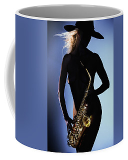 Late Night Sax Coffee Mug