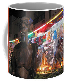 Late Night Shopping Coffee Mug by Maciek Froncisz