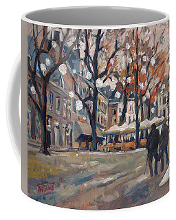 Late November At The Our Lady Square Maastricht Coffee Mug