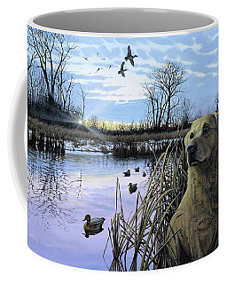 Late Season Mallards Coffee Mug