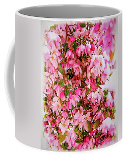 Late Snow Early Flowers Coffee Mug