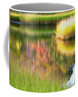 Stillness Of Late Summer Marsh  Coffee Mug